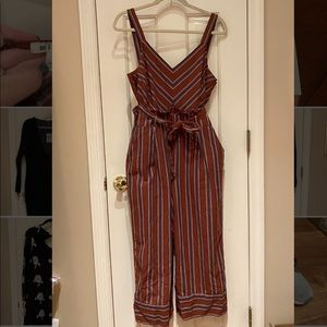 Miami Boutique Rust colored Cropped jumpsuit